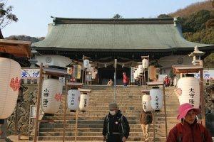 初詣 一宮の吉備津彦神社